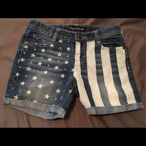 JUNIOR size Jean shorts